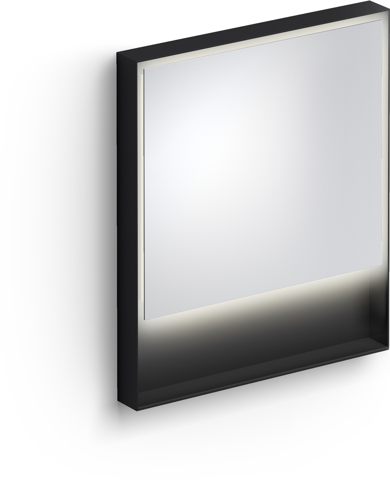 Look at Me Mirror 70 cm with frame and LED-lighting