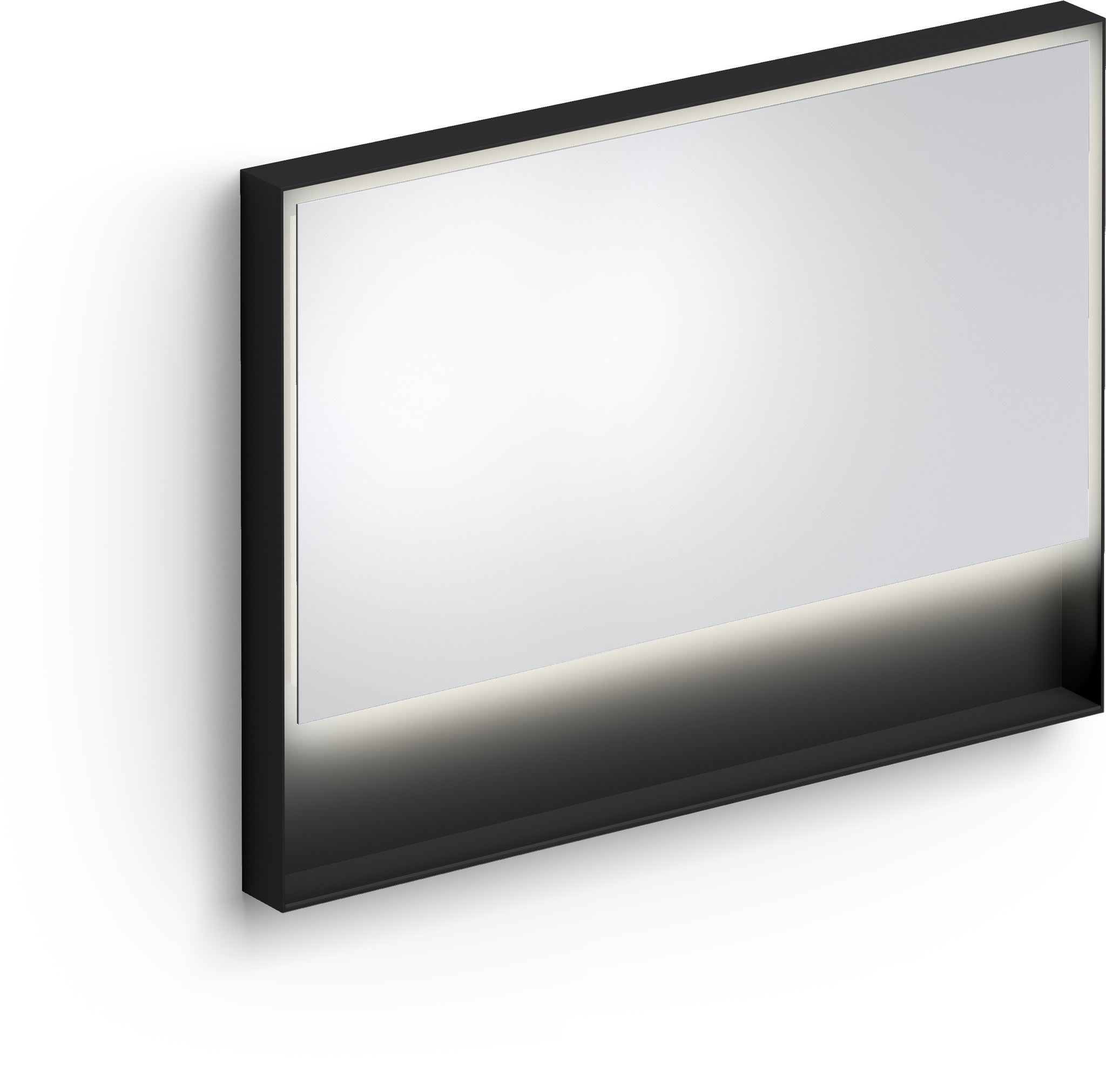 Look at Me Mirror 110 cm with frame and LED-lighting