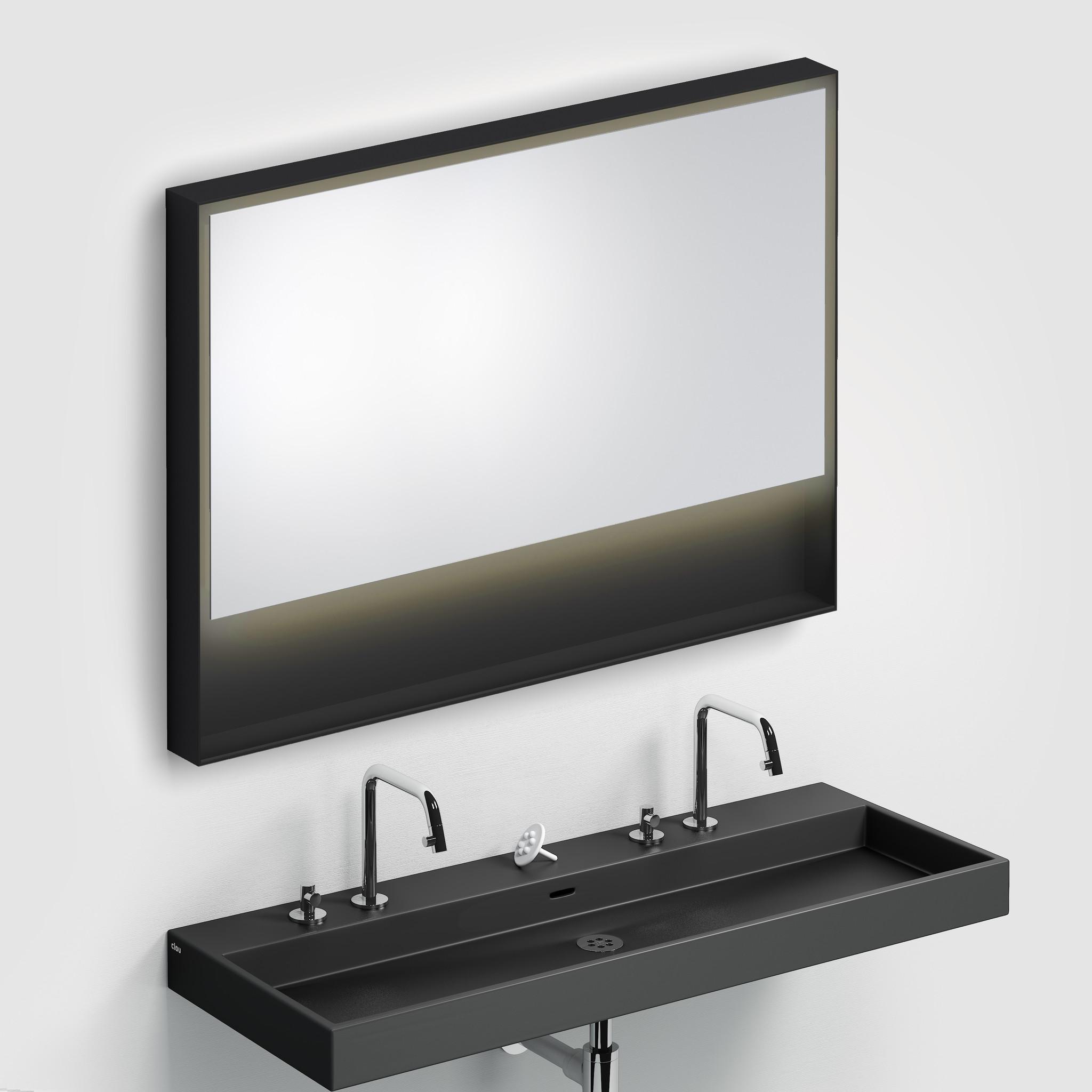 Look at Me Miroir 110 cm avec cadre et éclairage LED