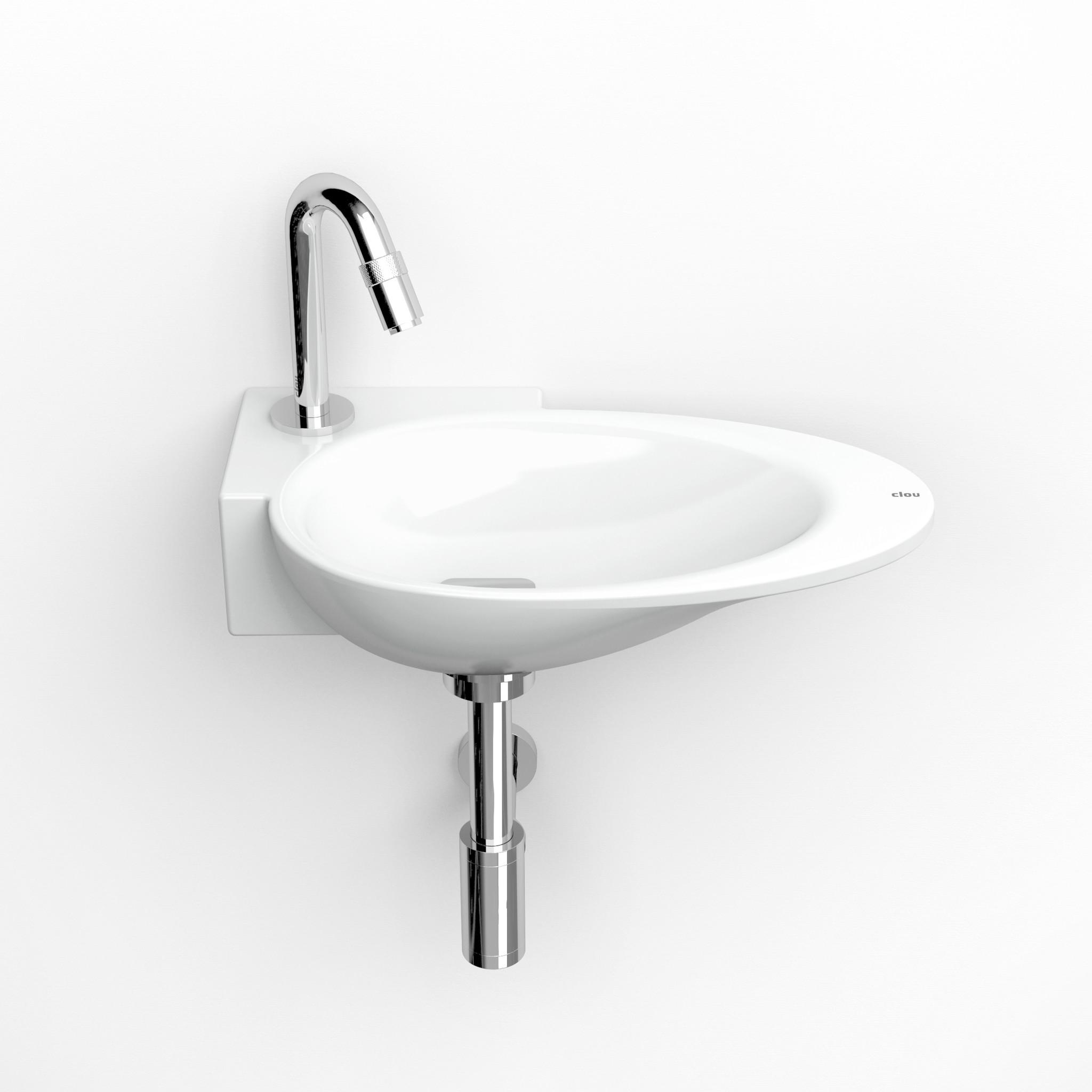 First handbasin left