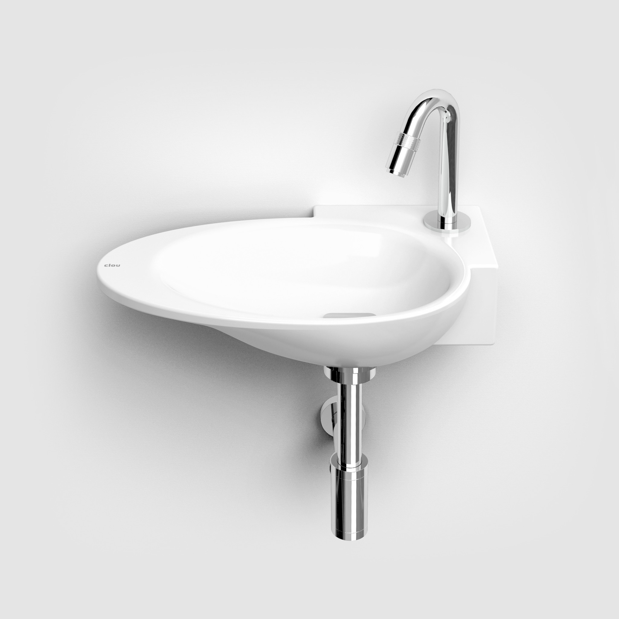 First lave-mains à droite