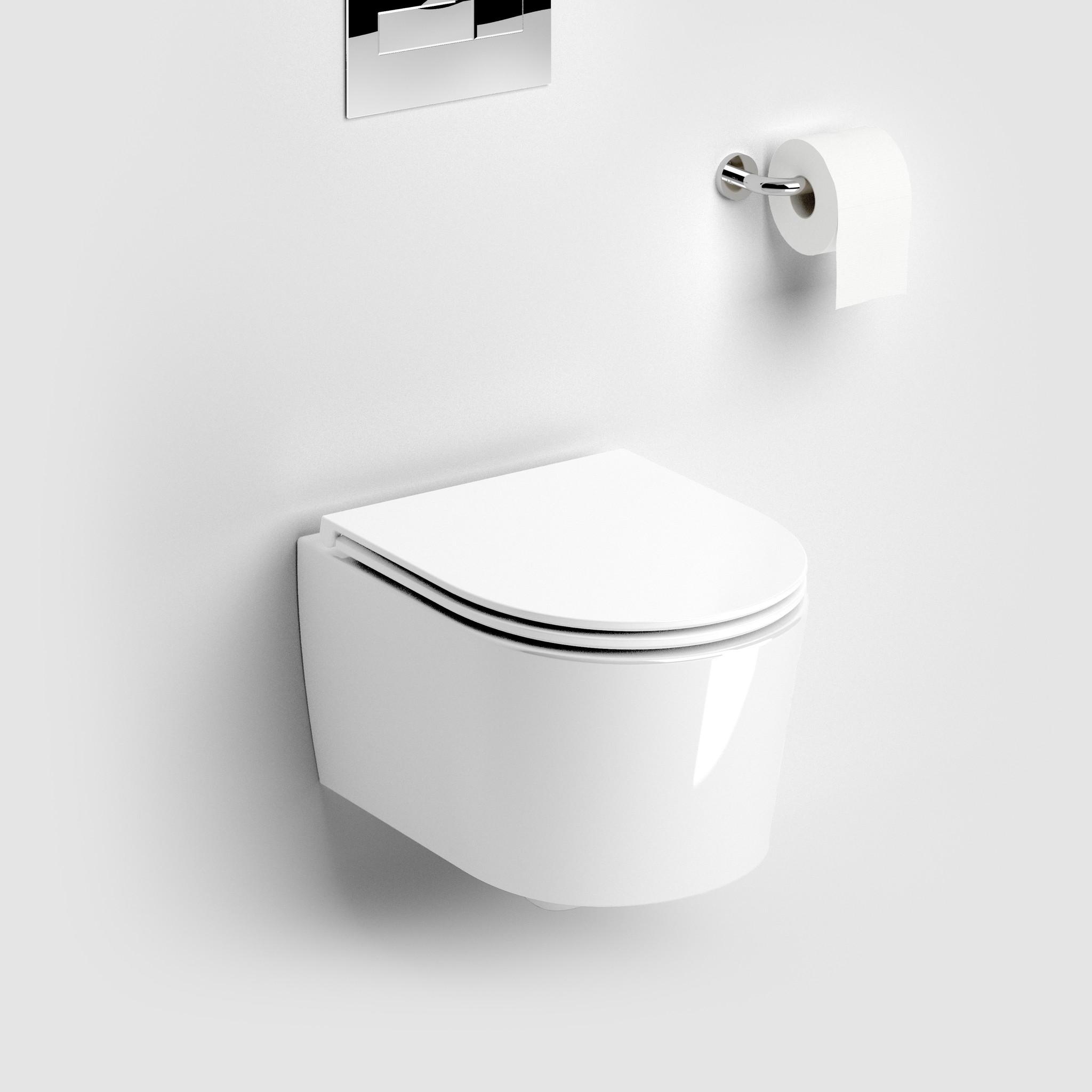 InBe toilet 48 cm, randloos