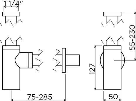 InBe siphon design type 1