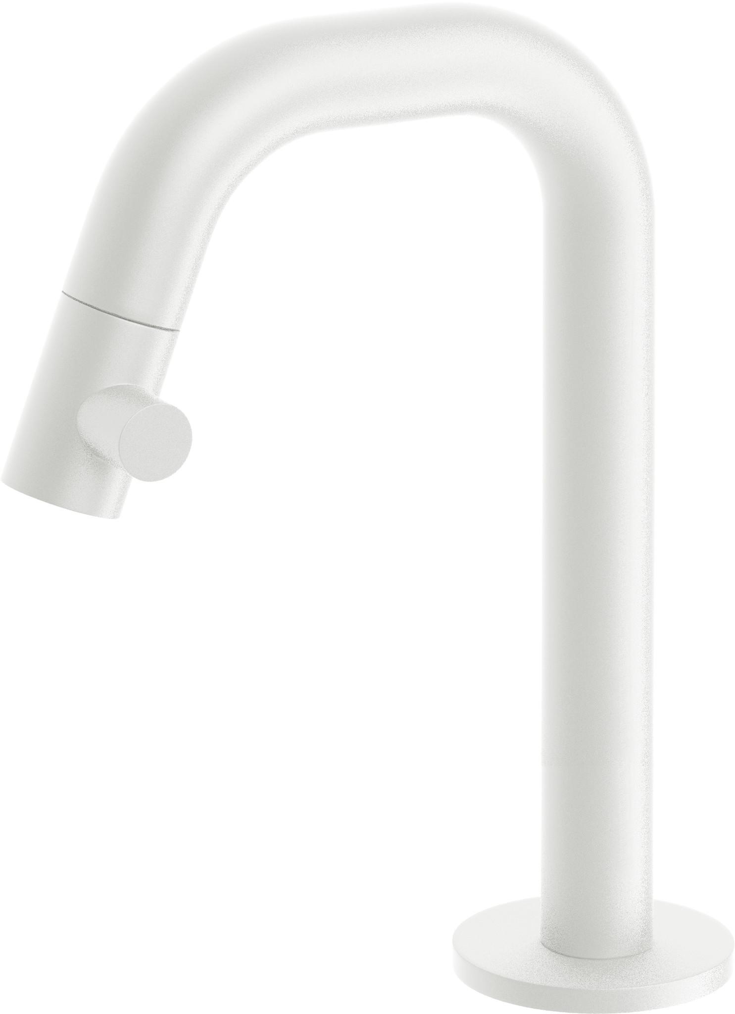 Kaldur cold water tap white