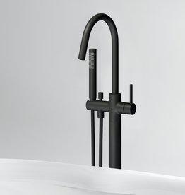Xo vrijstaande badmengkraan type 1 zwart