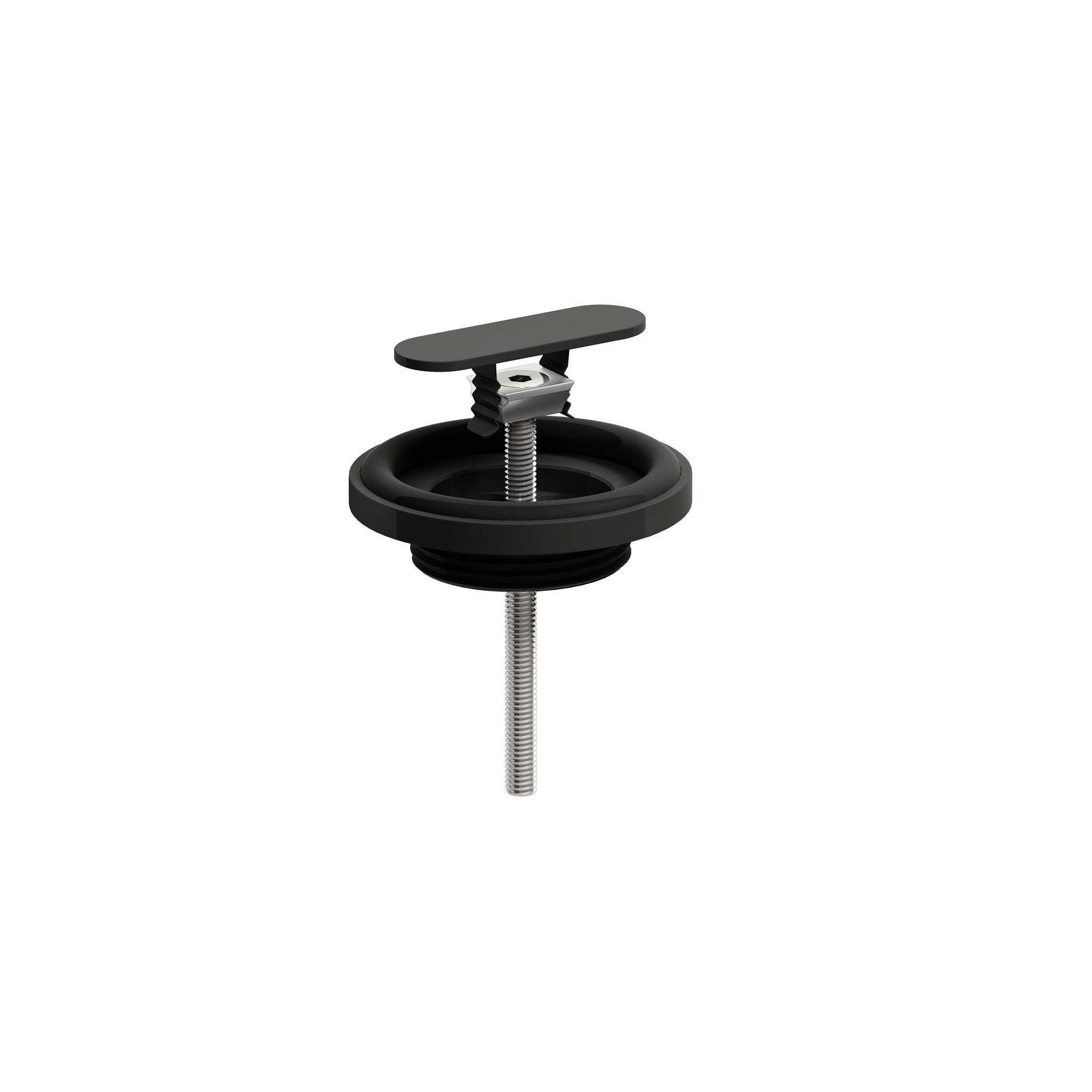 New Flush afvoerplug en sifon aansluiting  t.b.v First, Flush en New Flush fonteinen, chroom