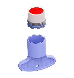 Kaldur Aérateur pour robinets eau froide et mitigeurs de lavabo Kaldur, InBe, Xo