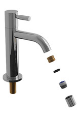 Freddo aérateur pour robinets eau froide Freddo 1, 2, et 5 et mitigeurs de lavabo Xo type 1 & 7, chrome