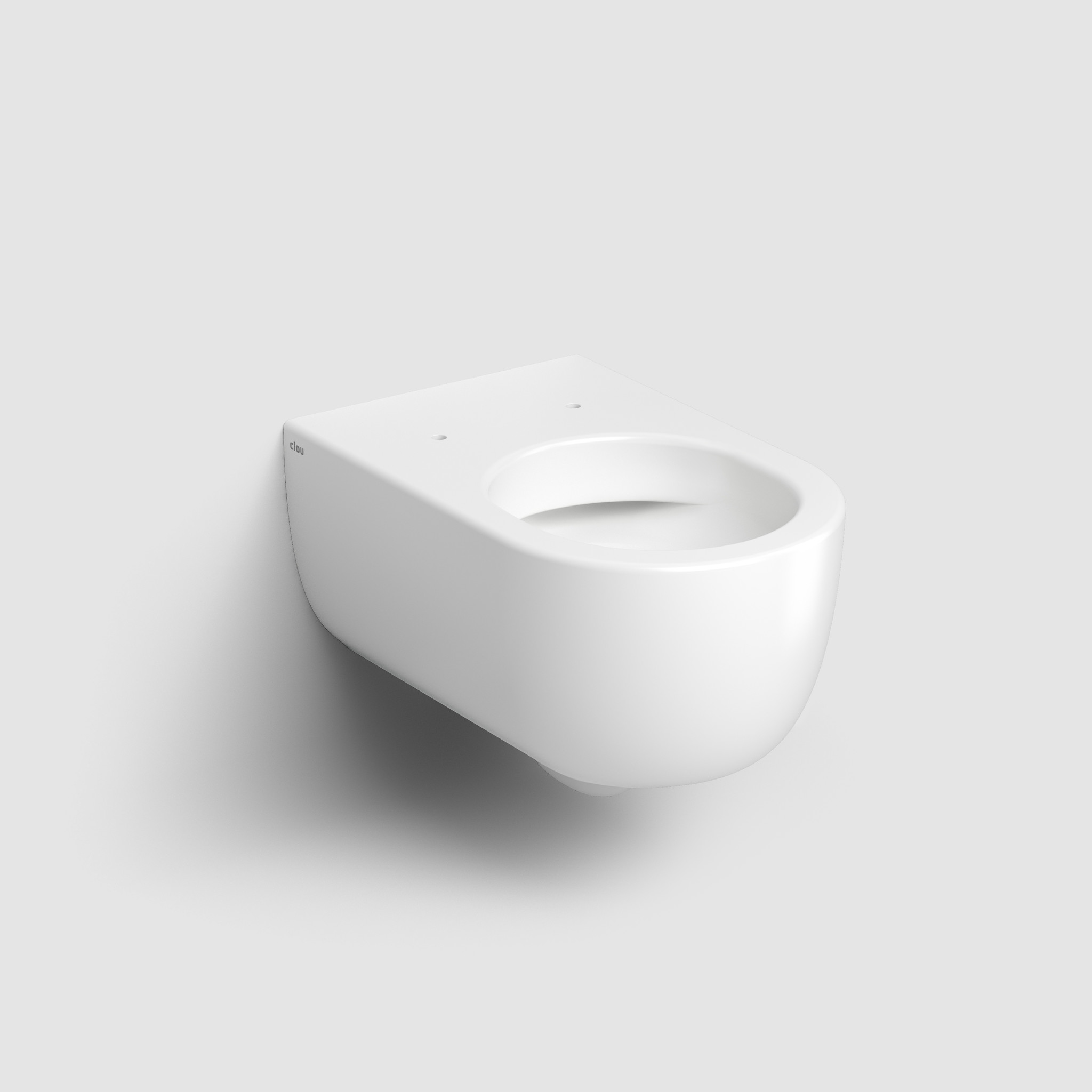 Hammock rimless toilet 56cm without seat and cover