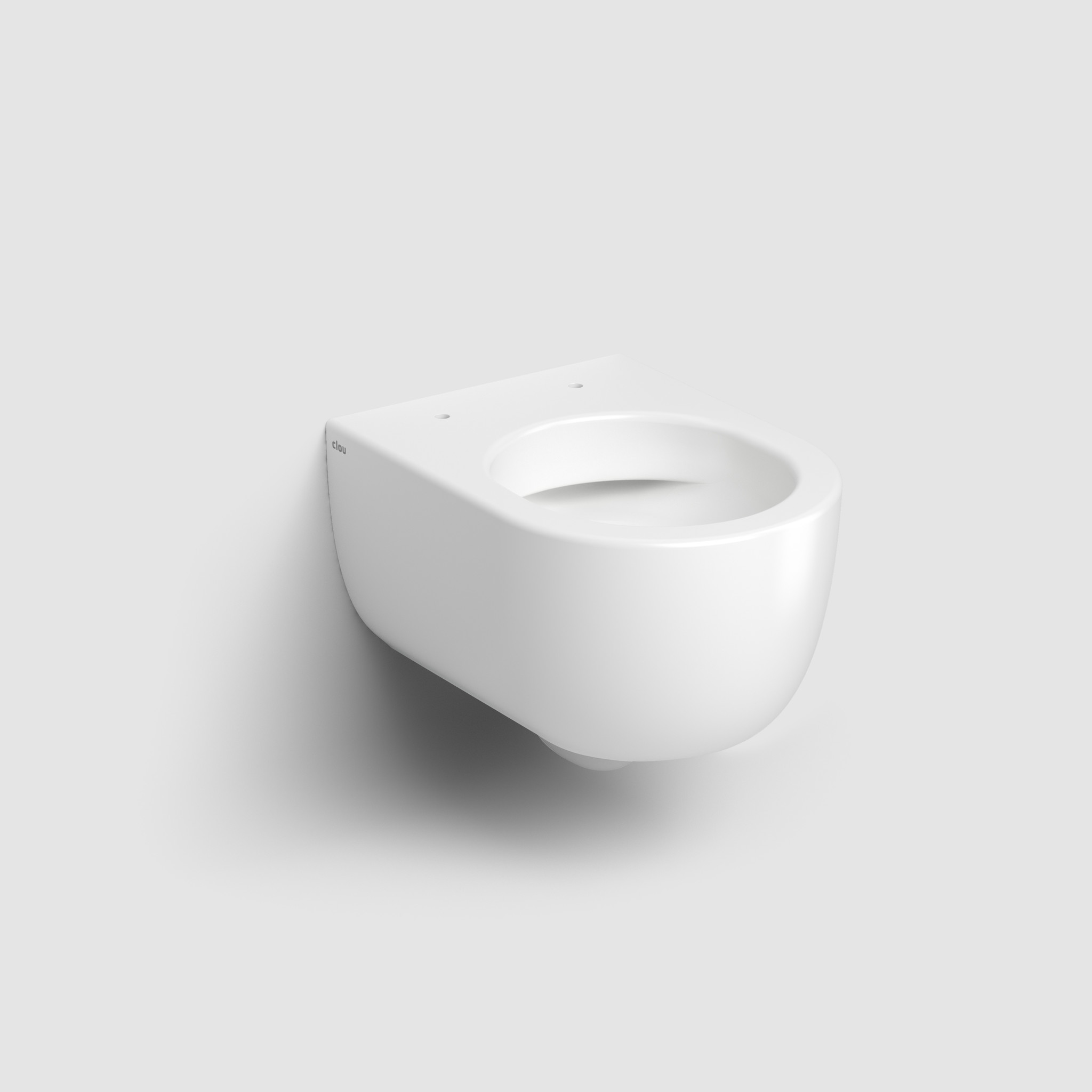 Hammock rimless toilet 49cm without seat and cover