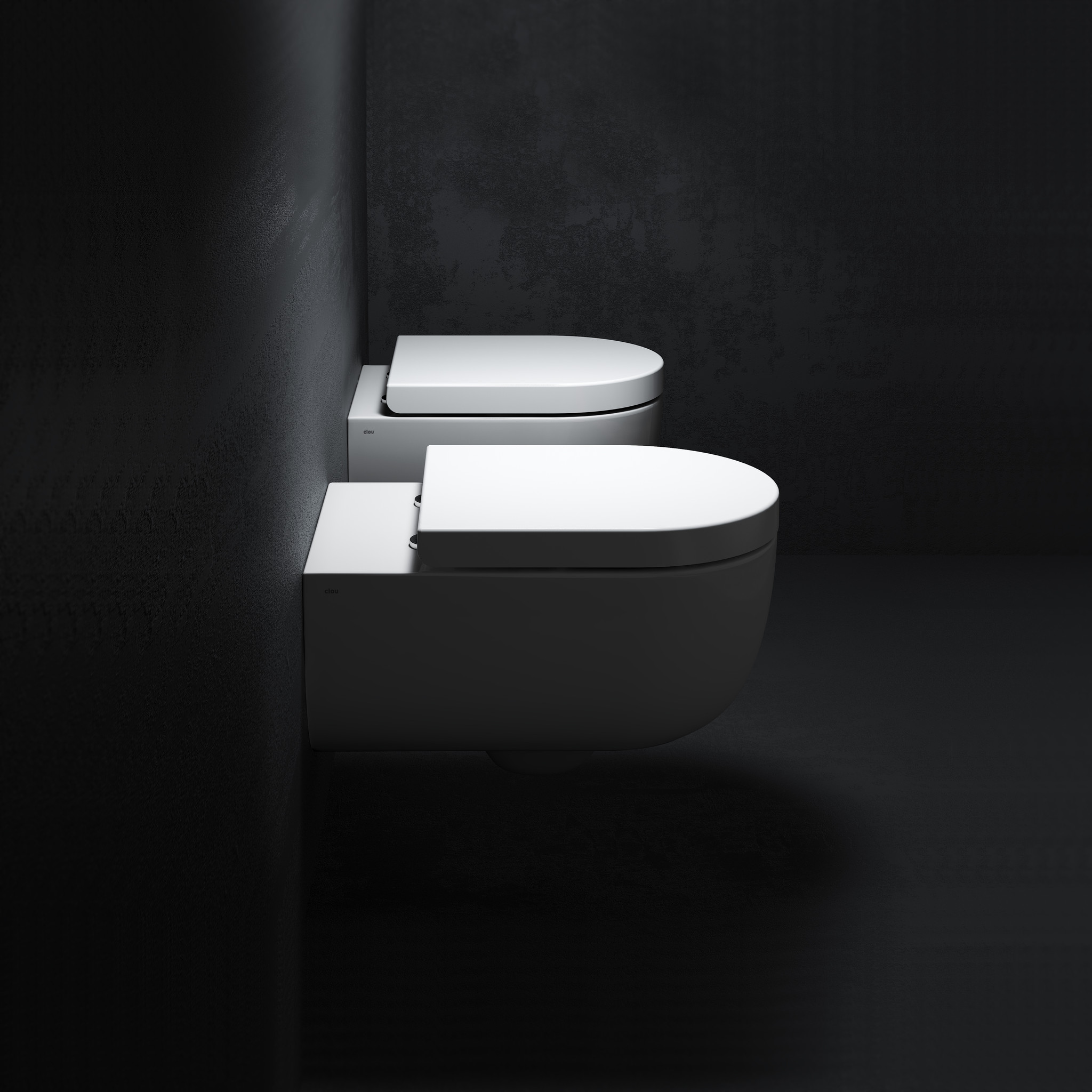 Hammock toilette 49cm sans bord, sans abattant