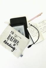BB etui: I'd rather be reading (medium)