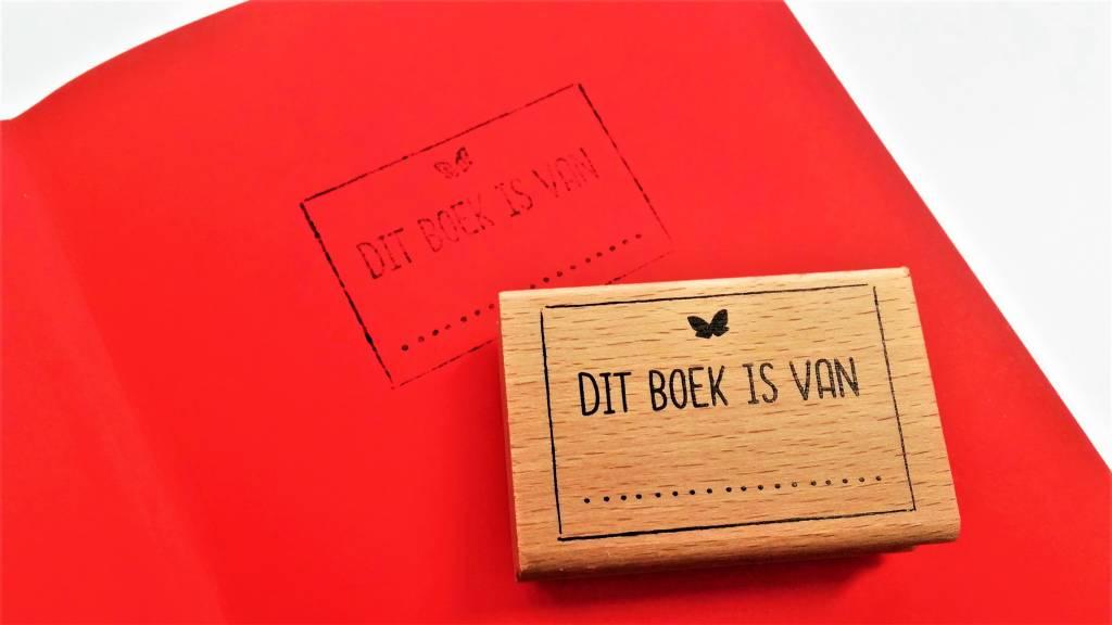 Stempel: Dit boek is van ...