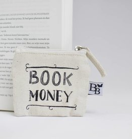 BB canvas case: Book Money