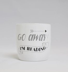 Blossom Mug: Go Away, I'm Reading