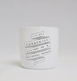 Blossom Mug: Currently Living in a Fictional World