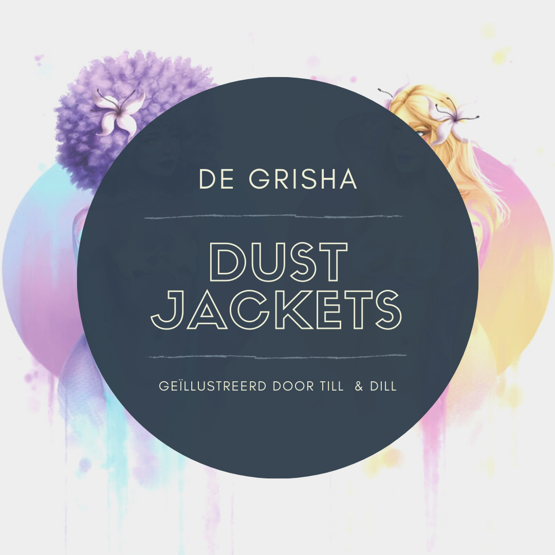 Limited Edition set dust jackets - The Grisha