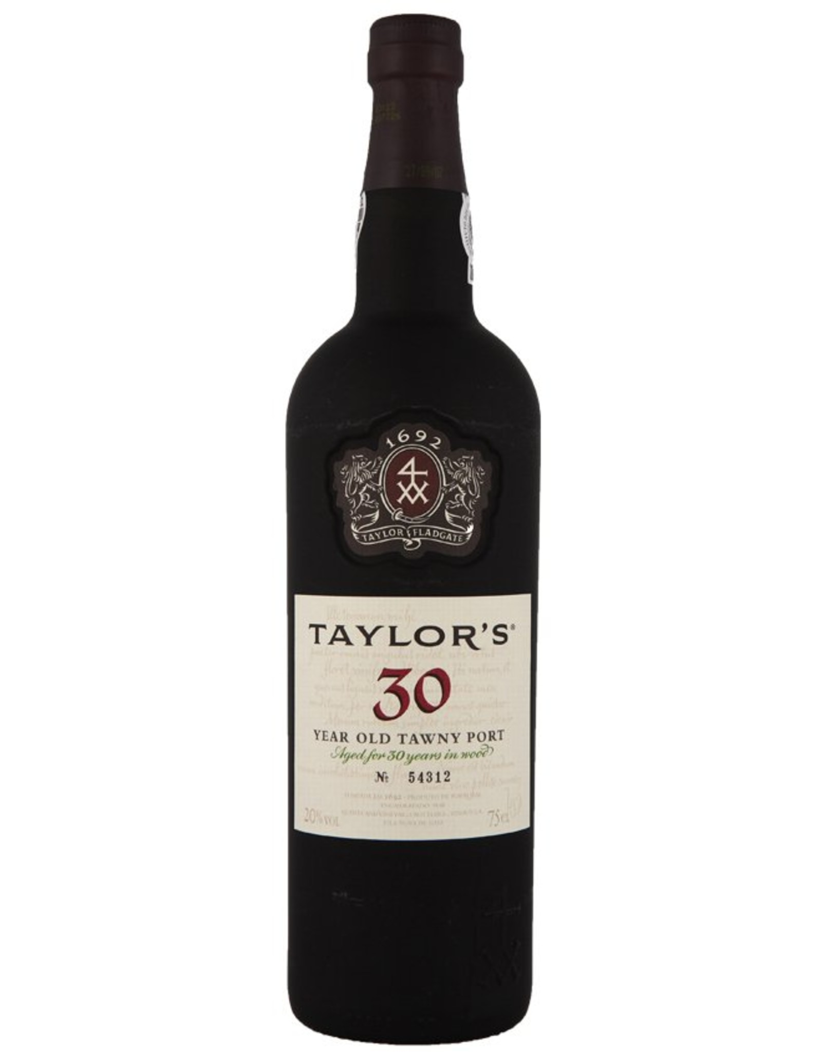 Proef Taylor's 30 Years Old Tawny