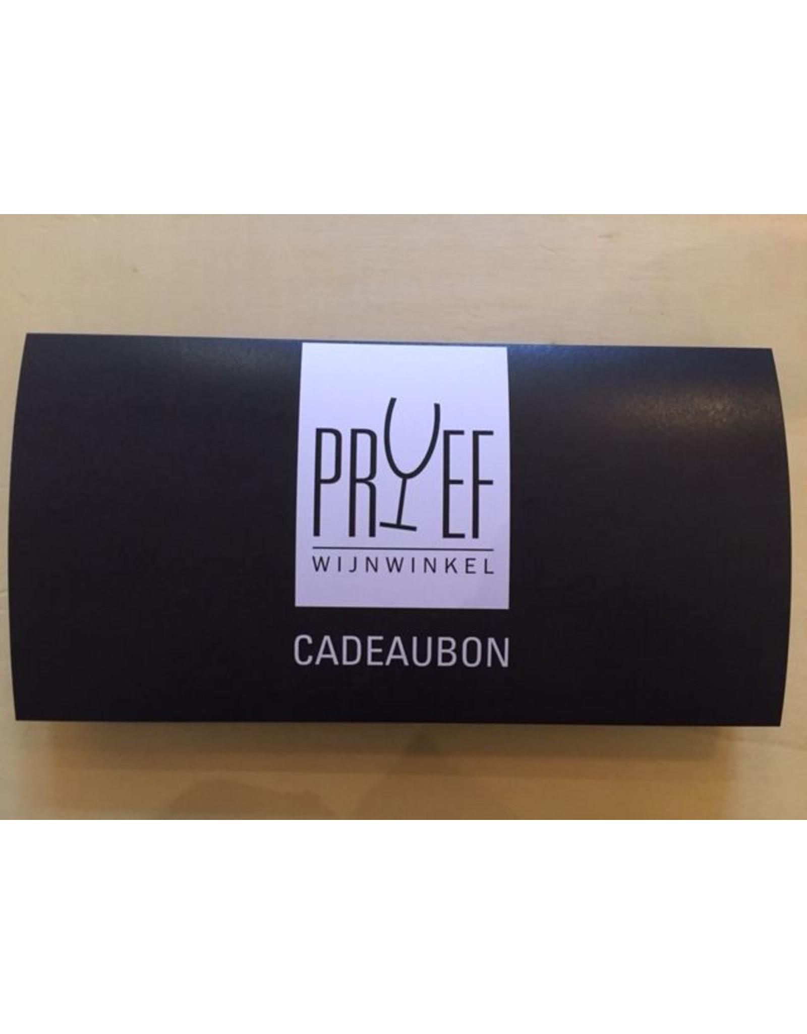 Cadeaubon Wijnwinkel Proef €100