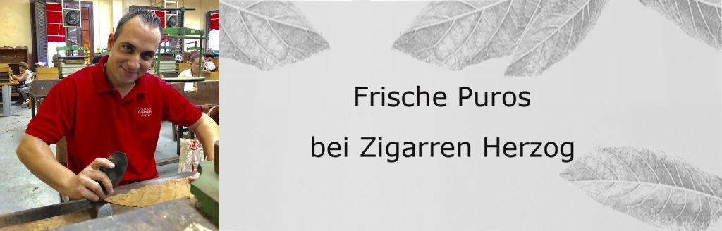 August 2018: Frische Puros bei Zigarren Herzog am Hafen
