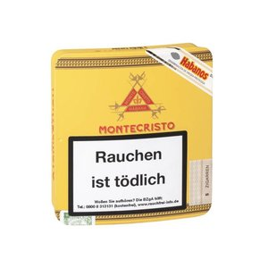 Montecristo Medias Coronas (metall-etui - pack of 25 cigars)