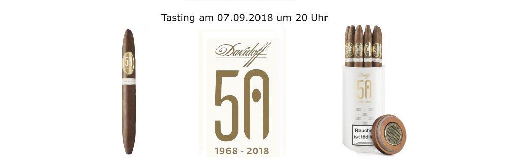 07.09.2018: Davidoff-Tasting bei Zigarren Herzog am Hafen