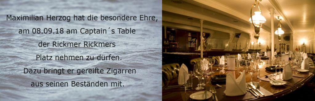 08.09.2018: Zigarren am Captain´s Table