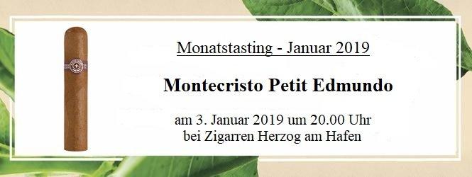 03.01.2019: Monatstasting bei Zigarren Herzog am Hafen