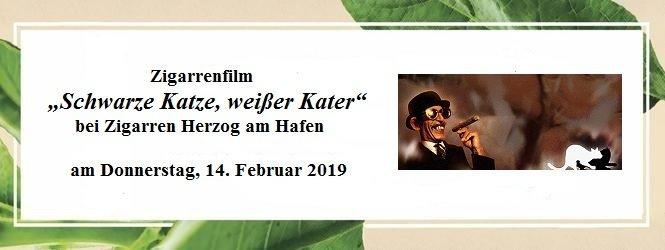 14.02.2019: Filmabend bei Zigarren Herzog am Hafen