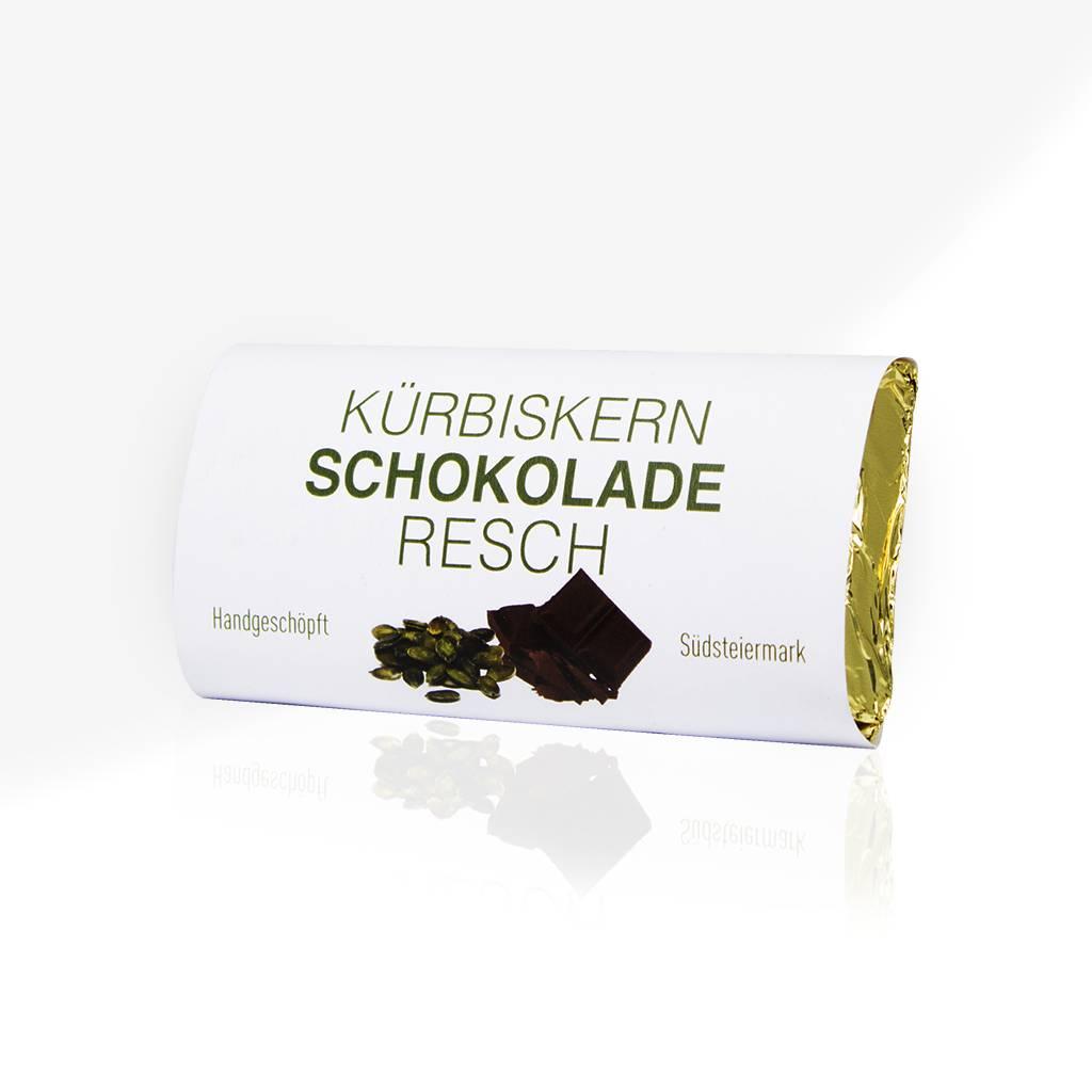 RESCH Kürbiskernschokolade