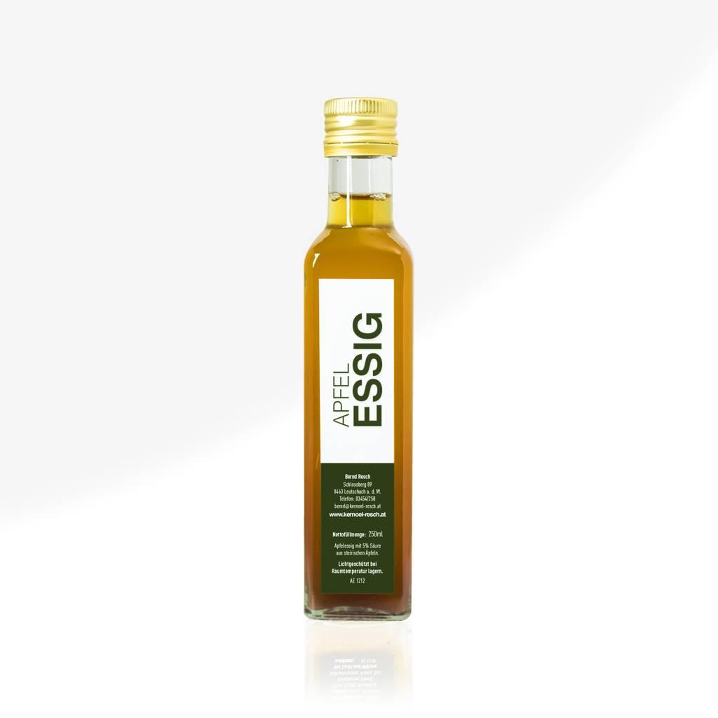 RESCH Apfelessig naturtrüb 0,25 ltr. Glasflasche