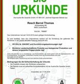 RESCH 150g Bio Kürbiskerne naturbelassen AT BIO 301