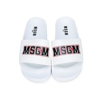 MSGM slippers