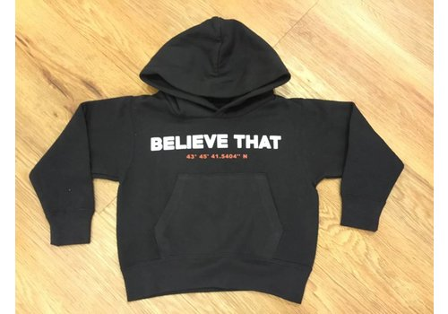 Believe That Believe That Sweater Text