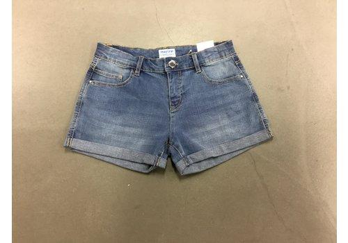 Mayoral Basic denim shorts
