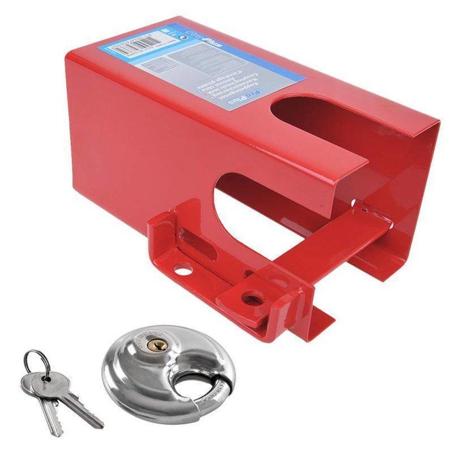 Disselslot ProPlus 110x110 rood met/zonder discus