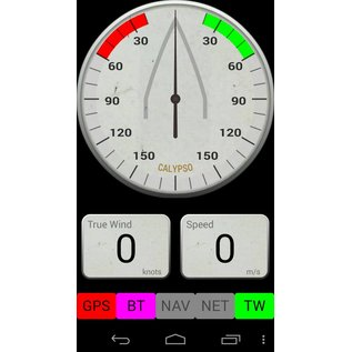 Calypso Marine Instruments CUPS4.0 Bluetooth windmeter