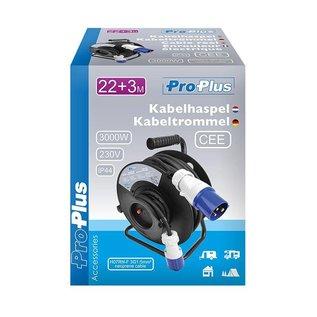 ProPlus Kabelhaspel CEE 25M - 2 types