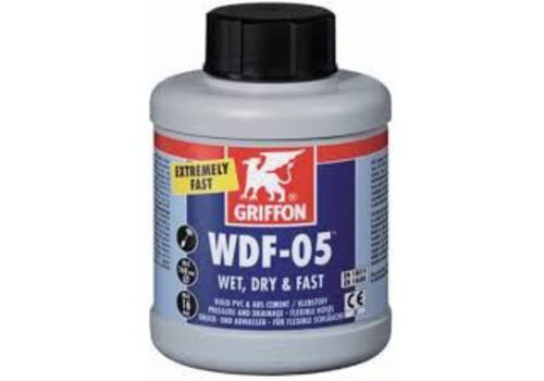 S.P.A.S. PRODUCTS WDF-05 PVC lijm 250ML