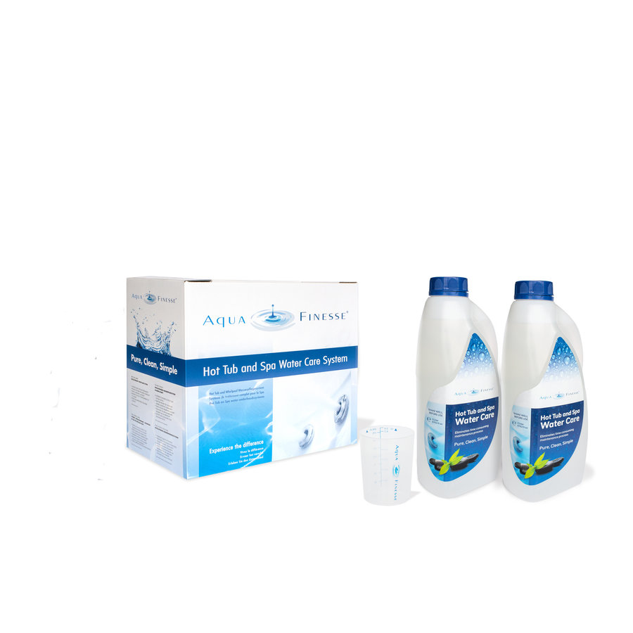 AquaFinesse Hottub Watercare box Di-Chloor Granulate