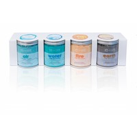 AquaFinesse SPA DE LUXE CRYSTALS 4X370g AIR/WATER/FIRE/EARTH