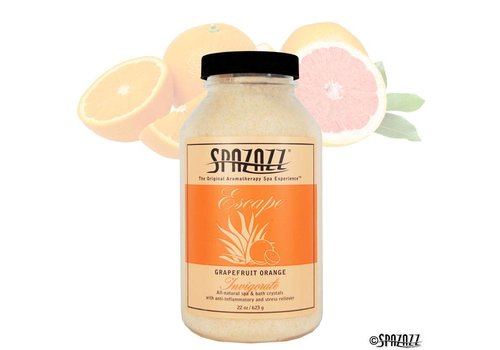 SPAZAZZ SPAZAZZ CRYSTALS GRAPEFRUIT ORANGE 22OZ