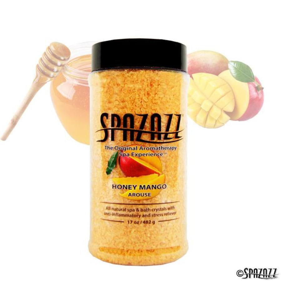 SPAZAZZ CRYSTALS HONEY MANGO 17OZ
