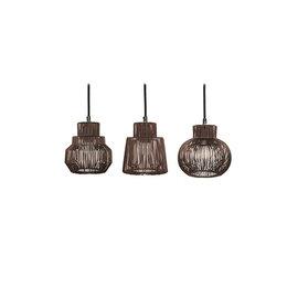 Hanglamp Klara Set van 3