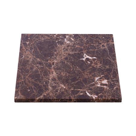 Tabletop Marble Brown
