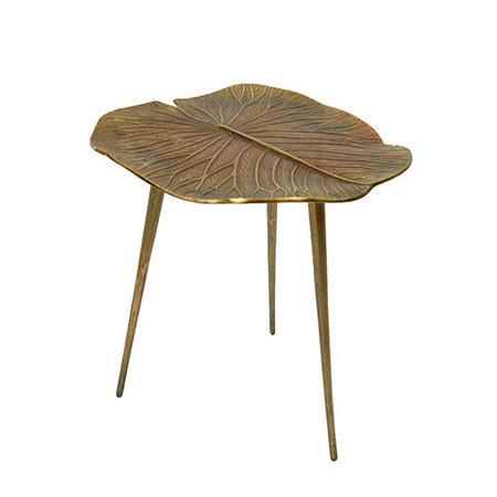 Side table Leaf shape