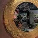Spiegel met reliëf rand