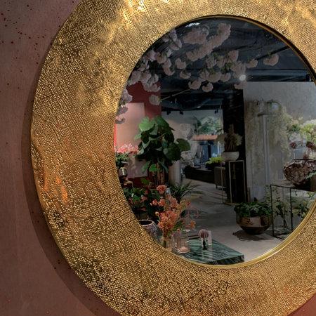 Embossed Edge Mirror