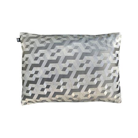 Kussen Eshie Pattern silver L50 B35cm