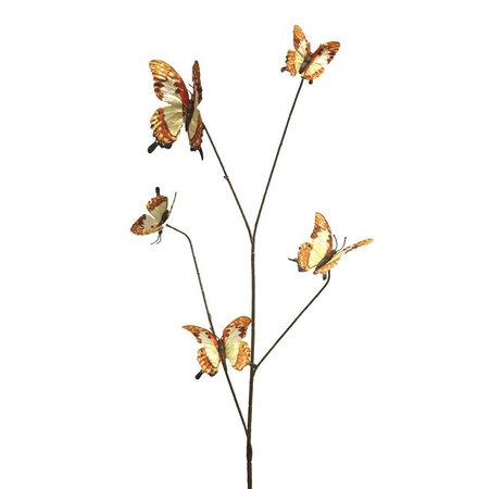 Vlindertak Oranje H90